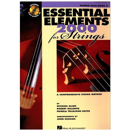 Allen, M.: Essential elements 2000 – double bass Vol. 2