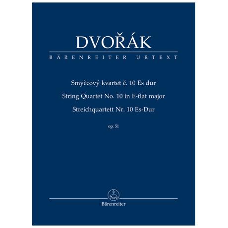 Dvořák, A.: Streichquartett Nr. 10 Op. 51 Es-Dur