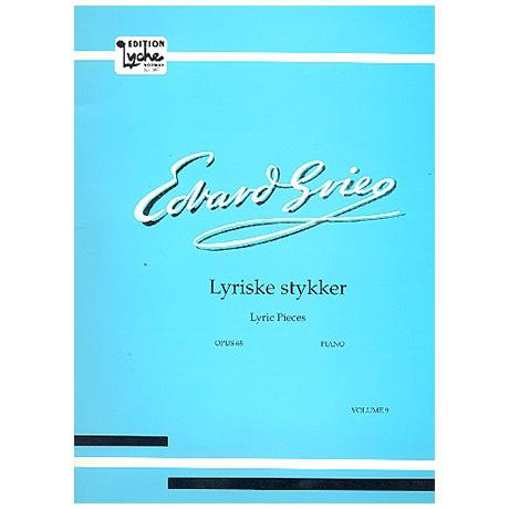 Grieg, E.: Lyrische Stücke Heft IX Op. 68