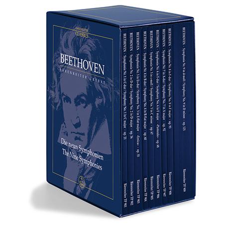 Beethoven, L. v.: Die neun Symphonien