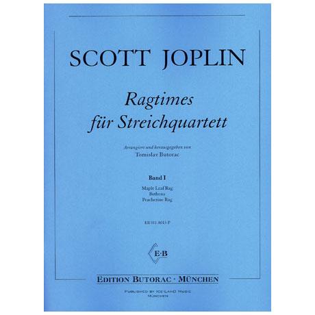 Joplin, S.: Ragtimes für Streichquartett Band 1