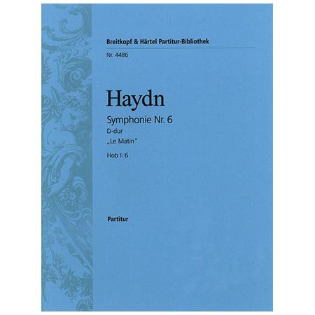 Haydn, J.: Symphonie Nr. 6 D-Dur Hob I:6