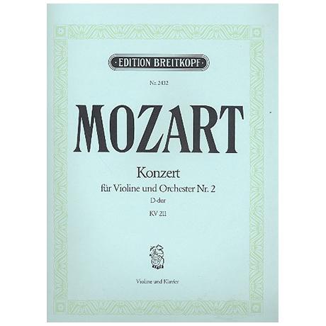 Mozart, W.A.: Konzert D-Dur Nr.2 KV211