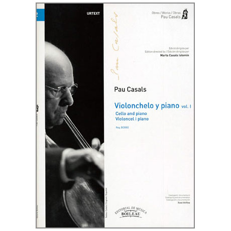 Casals, P.: Music for Cello and Piano Band 1