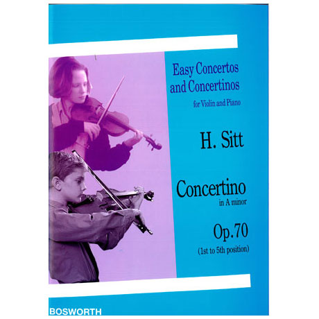 Sitt, H.: Concertino in a-moll op. 70