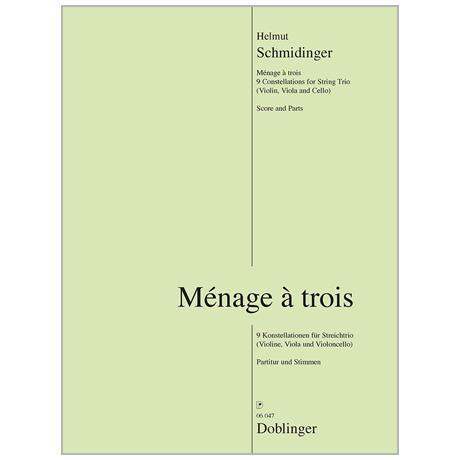 Schmidinger, H.: Ménage à trois – 9 Konstellationen (2017)