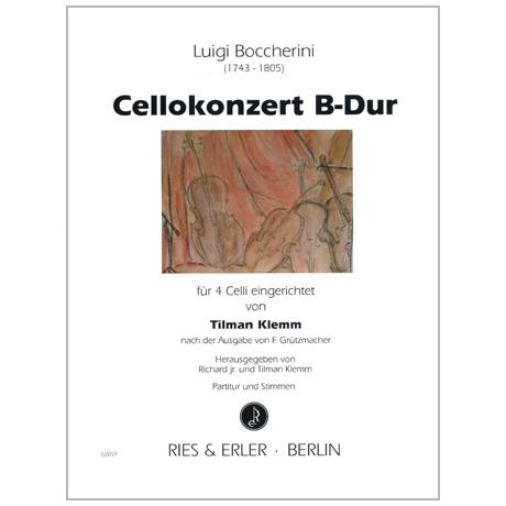 Boccherini, L.: Cellokonzert B-Dur