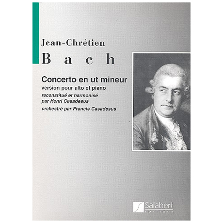 Bach, J. Chr.: Violakonzert c-Moll (Casadesus)