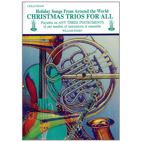 Ryden, W.: Christmas Trios for All – Violoncello