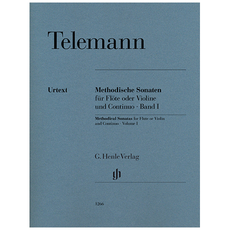 Telemann, G. P.: Methodische Sonaten Band I