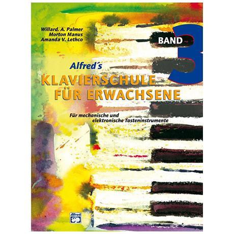 Alfred's Klavierschule für Erwachsene Band 3
