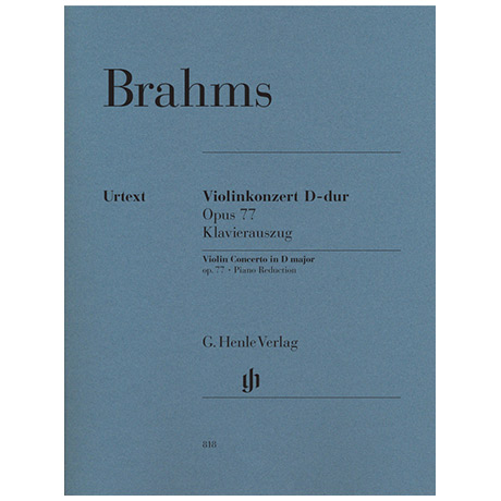 Brahms, J.: Konzert D-Dur Op. 77