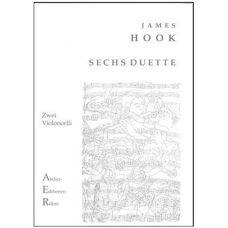 Hook, J.: 6 Duette