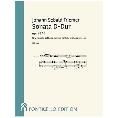 Triemer, J. S.: Violoncellosonate Op. 1/3 D-Dur