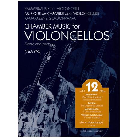 Kammermusik für Violoncelli Band 12