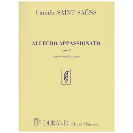 Saint-Saens, C.: Allegro Appassionato Op. 43 h-Moll
