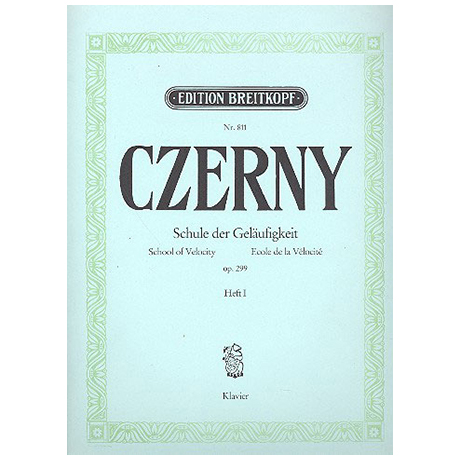 Czerny, C.: Die Schule der Geläufigkeit Op. 299 Heft I