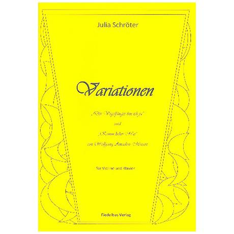 Schröter, J.: Mozart Variationen