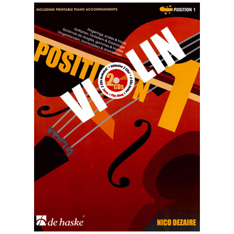 Dezaire, N.: Violin Position 1 (+2CDs)