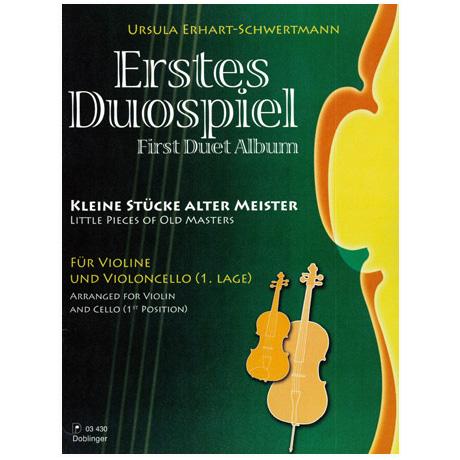 Erhart-Schwertmann, U.: Erstes Duospiel – kleine Stücke alter Meister