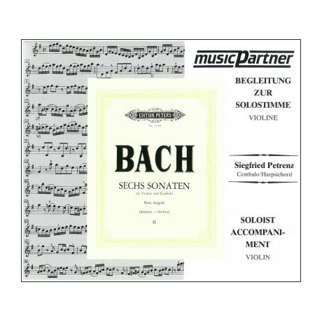 Bach, J. S.: Sonaten Band 2 BWV 1017-1019 Compact-Disc CD