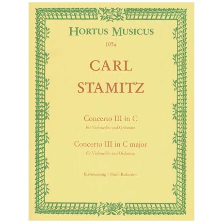 Stamitz, C. P.: Violoncellokonzert Nr. 3 C-Dur