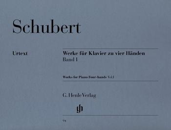Schubert, F.: Werke für Klavier zu vier Händen Band I