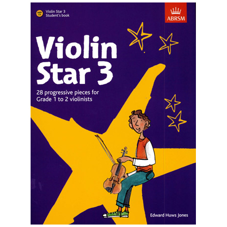 Jones, E.H.: Violin Star 3 (+CD)