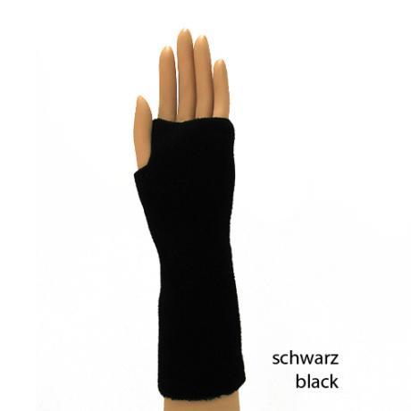 PACATO BASIC Handwärmer LANG schwarz | Damen
