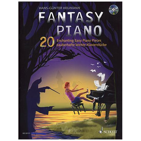 Heumann, H.-G.: Fantasy Piano – 20 zauberhafte leichte Klavierstücke (+CD)