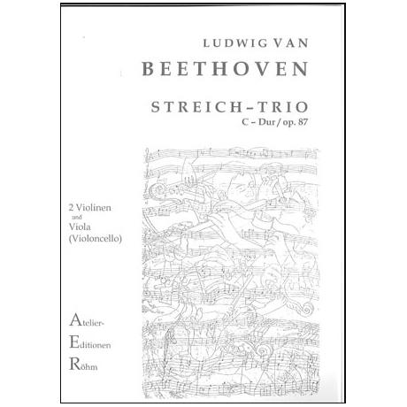 Beethoven, L. v.: Trio Op. 87 C-Dur