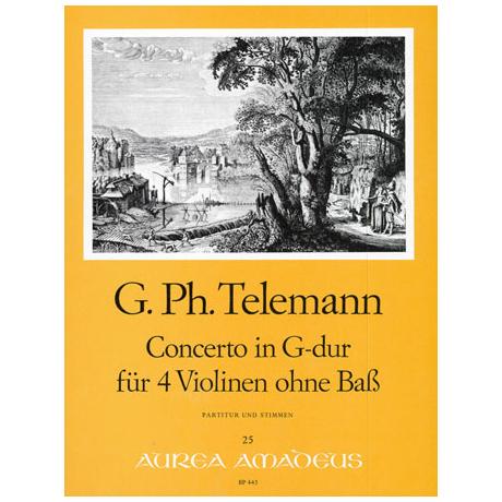 Telemann, G.P.: Konzert G-Dur