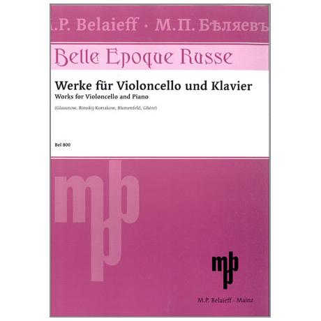 Belle epoque russe : für Violoncello und Klavier