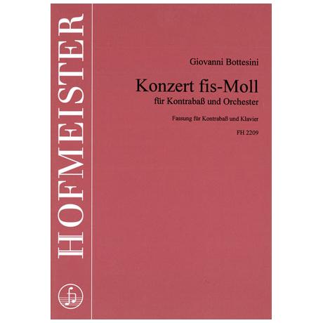 Bottesini, G.: Kontrabasskonzert fis-Moll