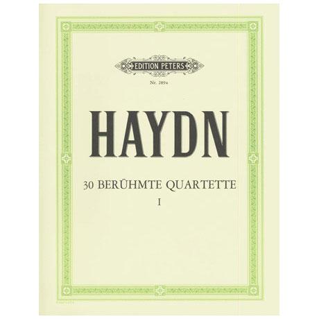 Haydn, J.: Streichquartette Band 1: op. 9/2, 17/5, 50/6, 54/1-3, 64/2-4, 74/1-3, 77/1-2