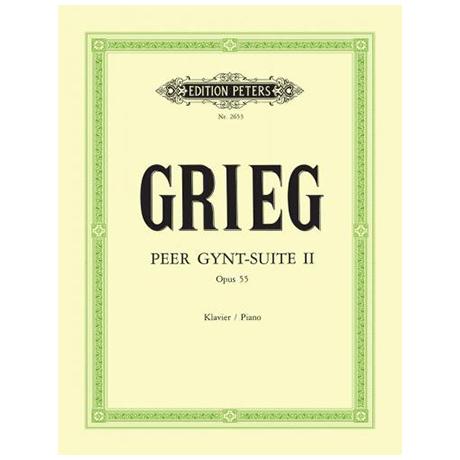 Grieg, E.: Peer Gynt-Suite II Op. 55