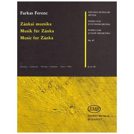 Werke für Jugendorchester - Farkas: Musik für Zánka