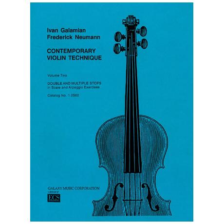 Galamian, Ivan: Contemporary Violin Technique Vol.2 - Scales