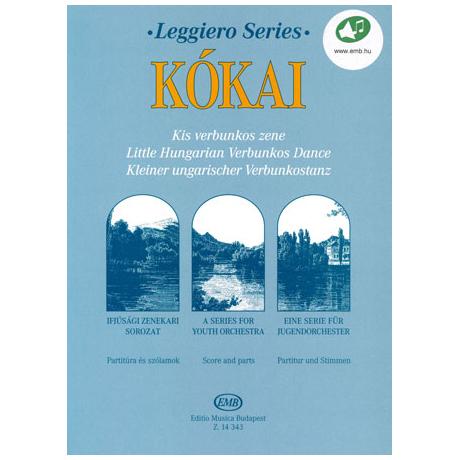 Leggiero - Kókai: Kleiner ungarischer Verbunkostanz