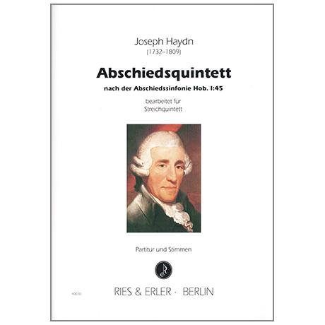 Haydn, J.: Abschiedsquintett