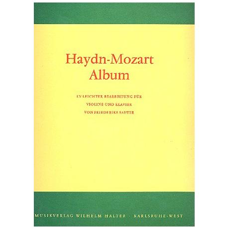 Sauter, Fr.: Haydn-Mozart-Album