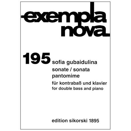 Gubaidulina, S.: Sonate / Pantomime