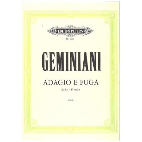 Geminiani: Adagio e Fuga Es-Dur