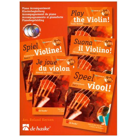 Elst, J. : Spiel Violine Band 2 (+ 2 CD's)