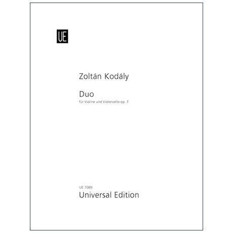 Kodály, Z.: Duo Op. 7 (1914)
