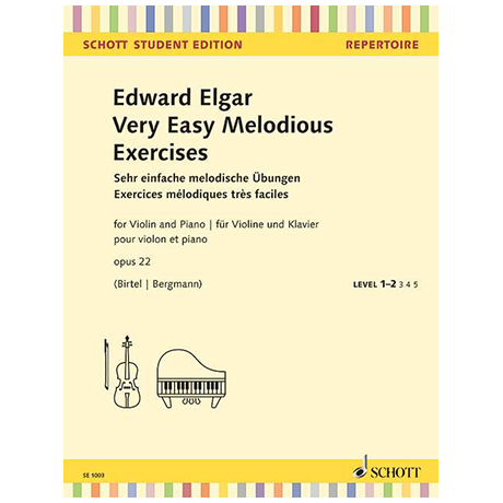 Elgar, E.: Very Easy Melodious Exercises Op. 22