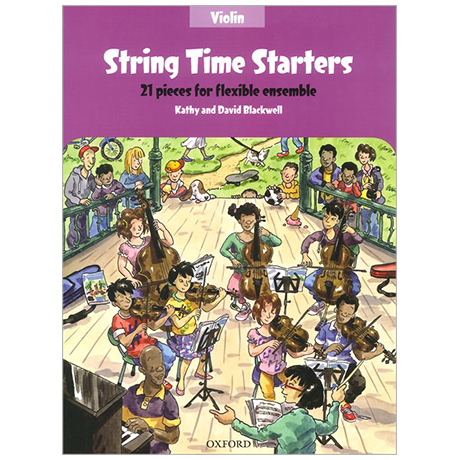 Blackwell, K. & D.: String Time Starters – Violine (+Online Audio)
