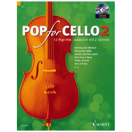 Pop for Cello 2 (+CD)
