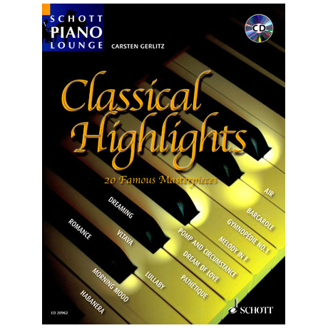 Schott Piano Lounge – Classical Highlights (+CD)