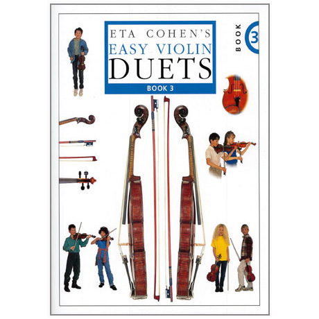 Eta Cohen: Easy Violin Duets Band 3